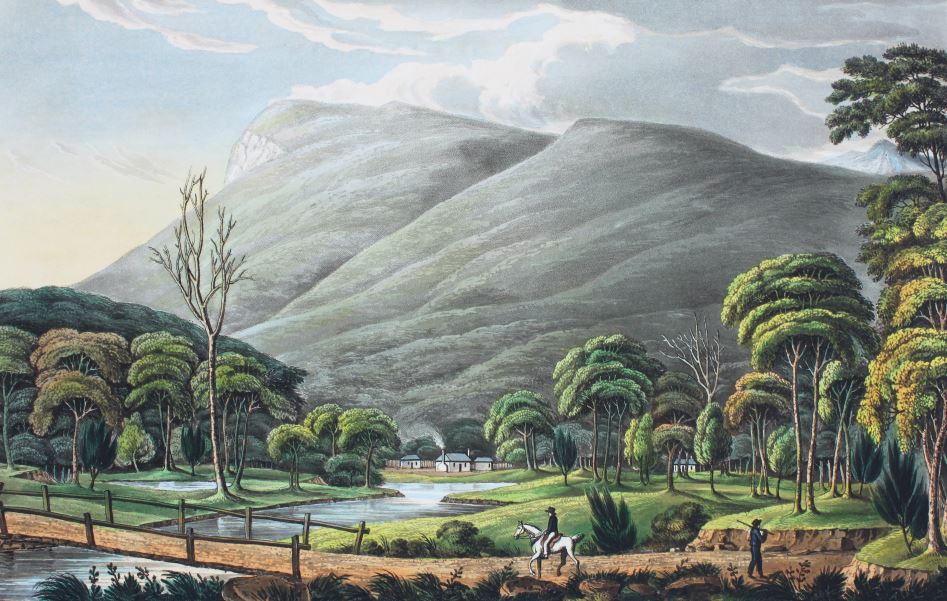 Joseph Lycett Mount Wellington, near Hobart Town, Van Dieman's Land