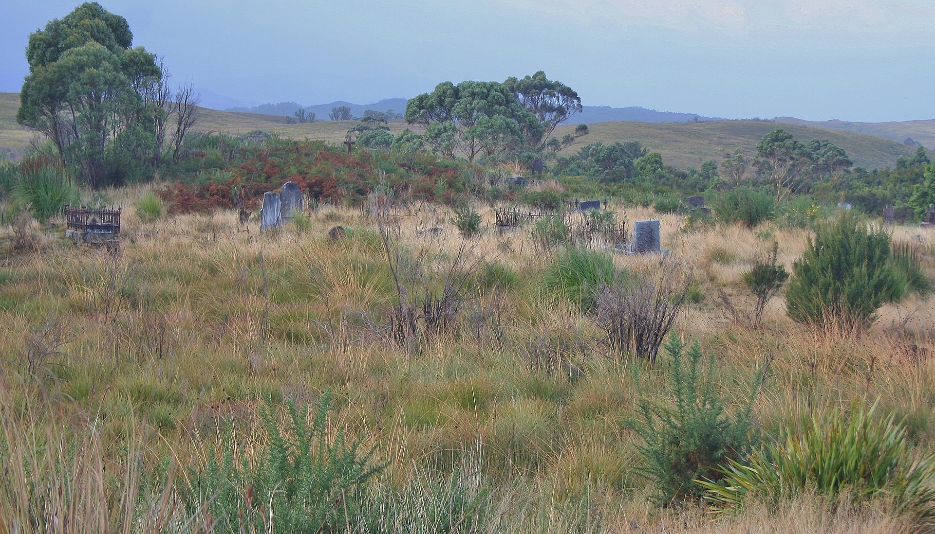 Pioneer Cemetery, Zeehan
